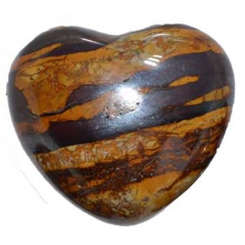 "1 3/4"" Desert Sun Stone heart"