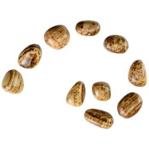 1 lb Aragonite tumbled stones