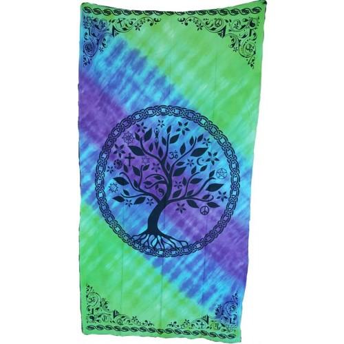 """44"""" x 88"""" Multi Faith Tree curtain"""