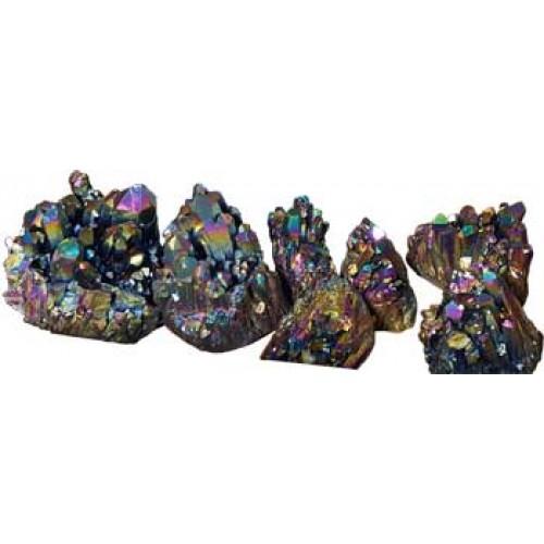 5# Quartz cluster with Black color