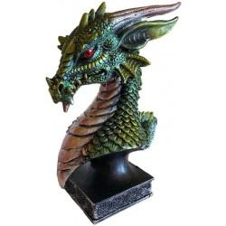"6 1/2"" Green Dragon Head"