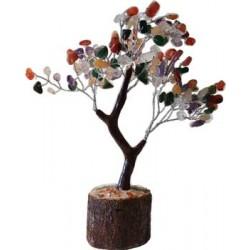 Mixed Agate Gemstone Tree