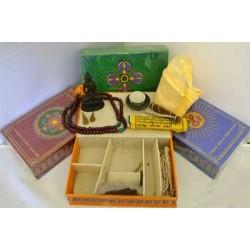 Tibetan incense gift set